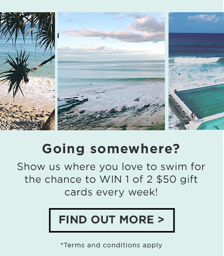 Show us where you love to swim for your chance to win 1 of 2 $5^0 gift cards every week! Find out more at instagram.com/cottononkids