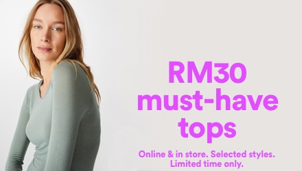 RM30 Must Have Tops. Click to shop.