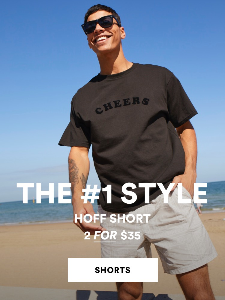 The Hoff Short. 2 for $35. Click to shop
