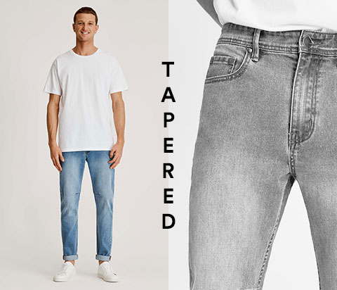a55eca38add0 Men s Relaxed Fit Jeans - Loose Fit Jeans