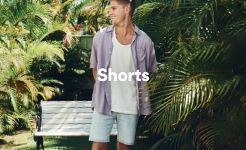 Men's Shorts. Click to Shop.