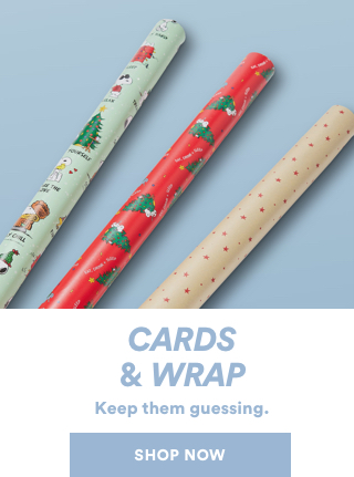 Shop Gift Cards & Wrap.