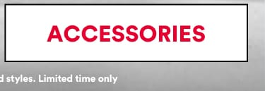 Extra 10% off Sale with code EXTRA10. Click to Shop Accessories.