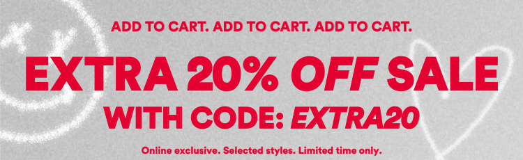 Extra 20% Off Sale With Code EXTRA20