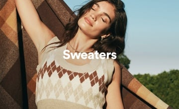 Women's Sweaters. Click to Shop.