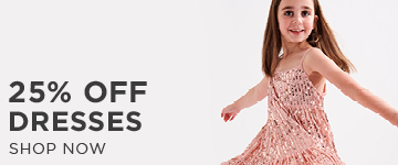25% off Dresses. Shop now
