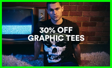 Men's Graphic Tees. Shop Now