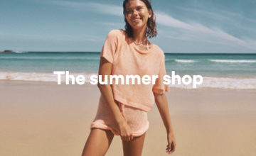 The Summer Shop. Click to Shop.