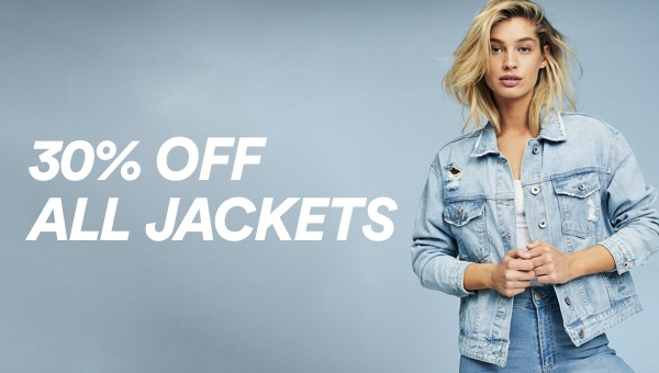 Cotton On. 30% Off All Jackets. Click to shop.