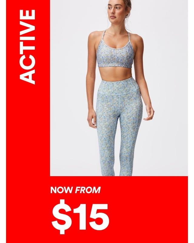 Sale. Activewear. Click to Shop.