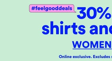 30% Off Shirts & Blouses. Click to Shop Women.