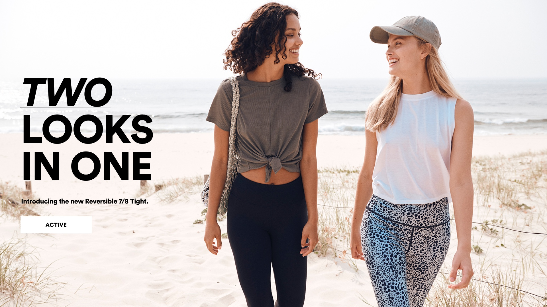 Two Outfits for the Price of One. Click to Shop Active.