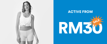 Women's Active From RM30. Click to Shop.