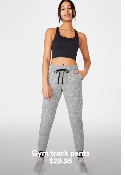 Women's Track Pants. Click to shop