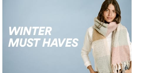 Cotton On. Winter Must Haves. Click to shop.