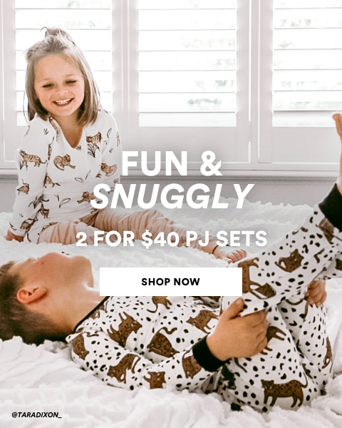 Fun & Snuggly. 2 for $40 Kids PJ Sets. Shop Now.