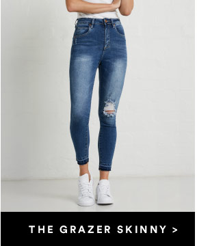 High rise jeans cotton on