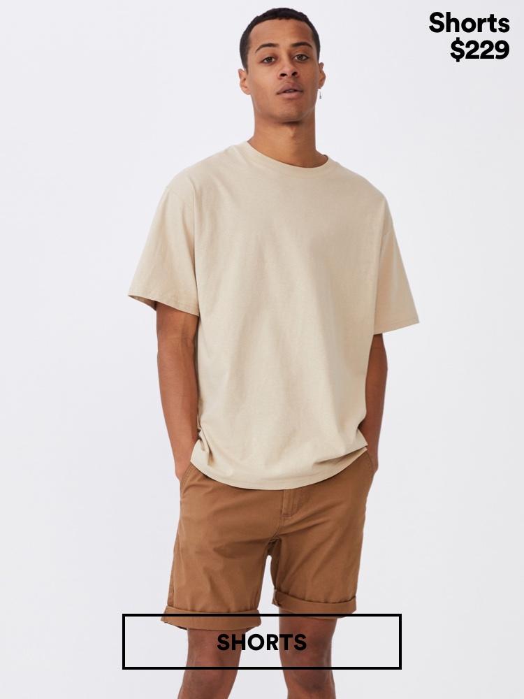 Men's Shorts. Click to Shop.