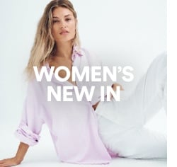 Women's New In. Click to Shop.
