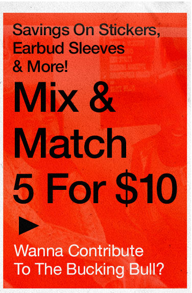 Mix & Match 5 for $10