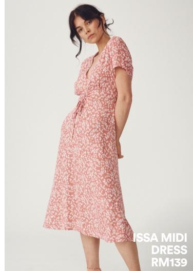 Issa Midi Dress. Shop Now.