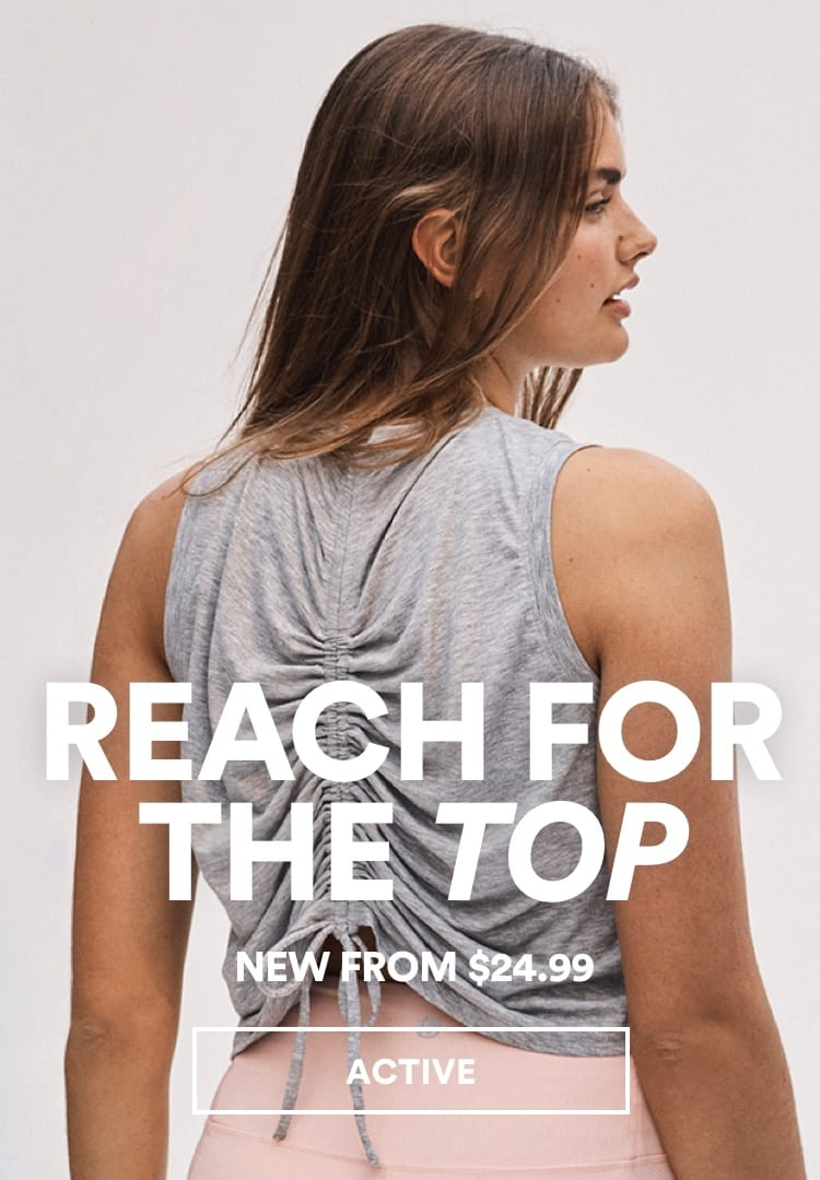 New Active from $24.99. Click to Shop.