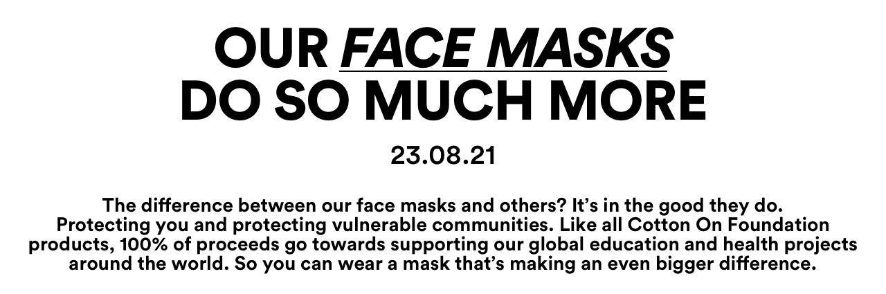 Reusable Face masks 101