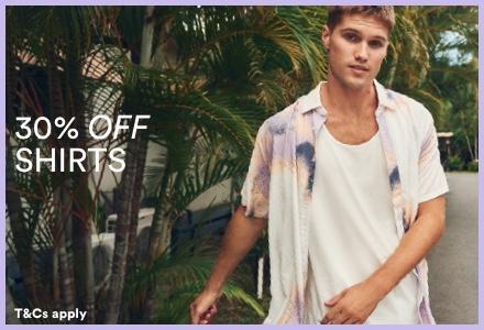 Men's Shirts. Click to shop.