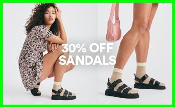 30% off Sandals. Shop Now.