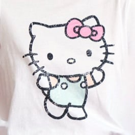 Hello Kitty. Click to shop.