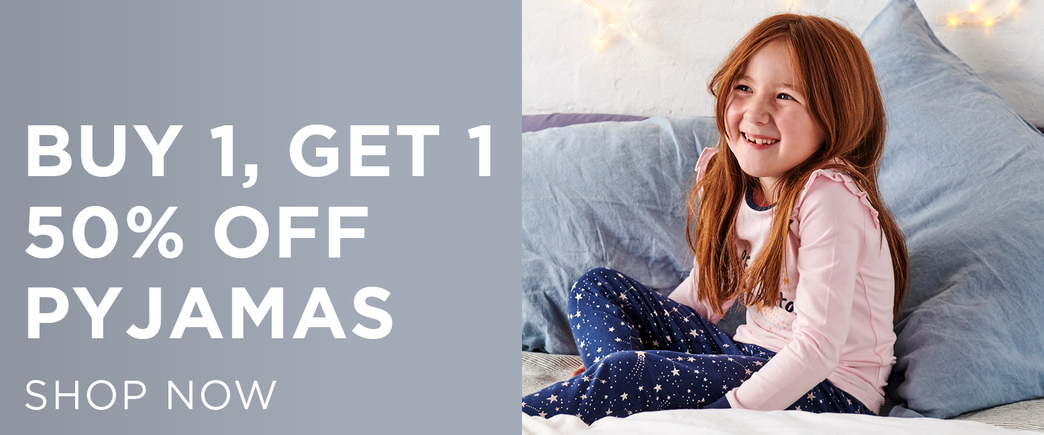Pjs. Shop Now.