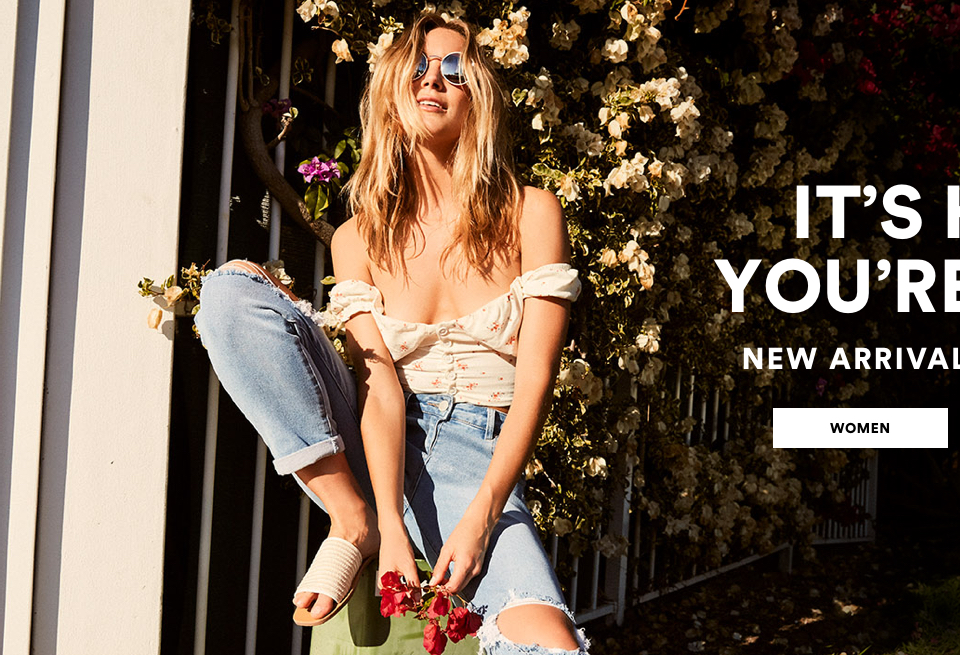 It's Hot, You're Cool. New Arrivals From $145. Click to shop Women.