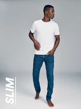 Tapered Jeans. Click to Shop.