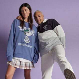 Snoopy X Yale. Click to Shop.