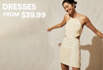 Dresses. Click to Shop