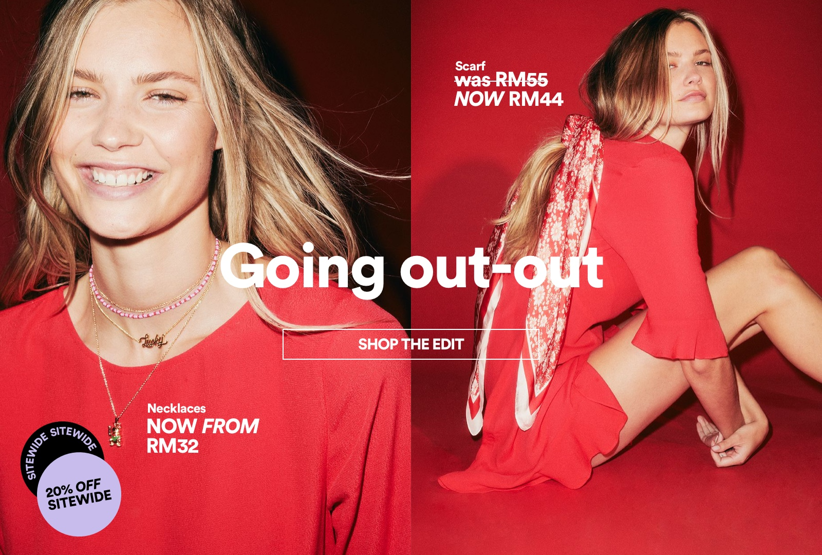 Going Ouut-Out. Shop The Edit