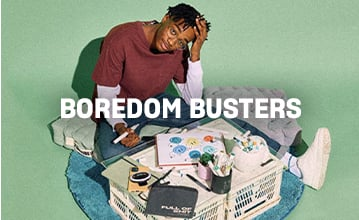 Boredom Busters. Click to Shop.
