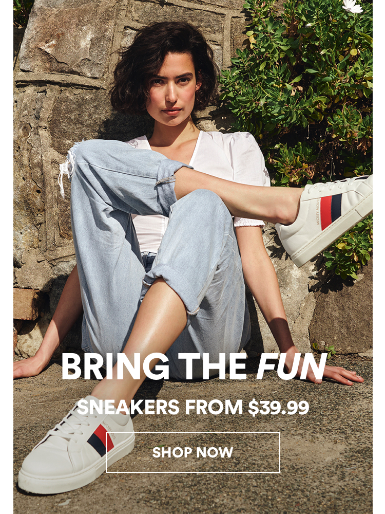 Sneakers from $39.99 Click to Shop.