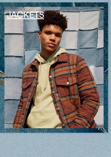 Men's Jackets. Click To Shop