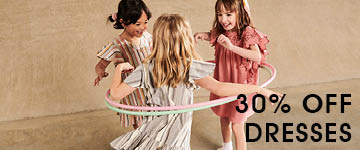 30% off Girls Dresses