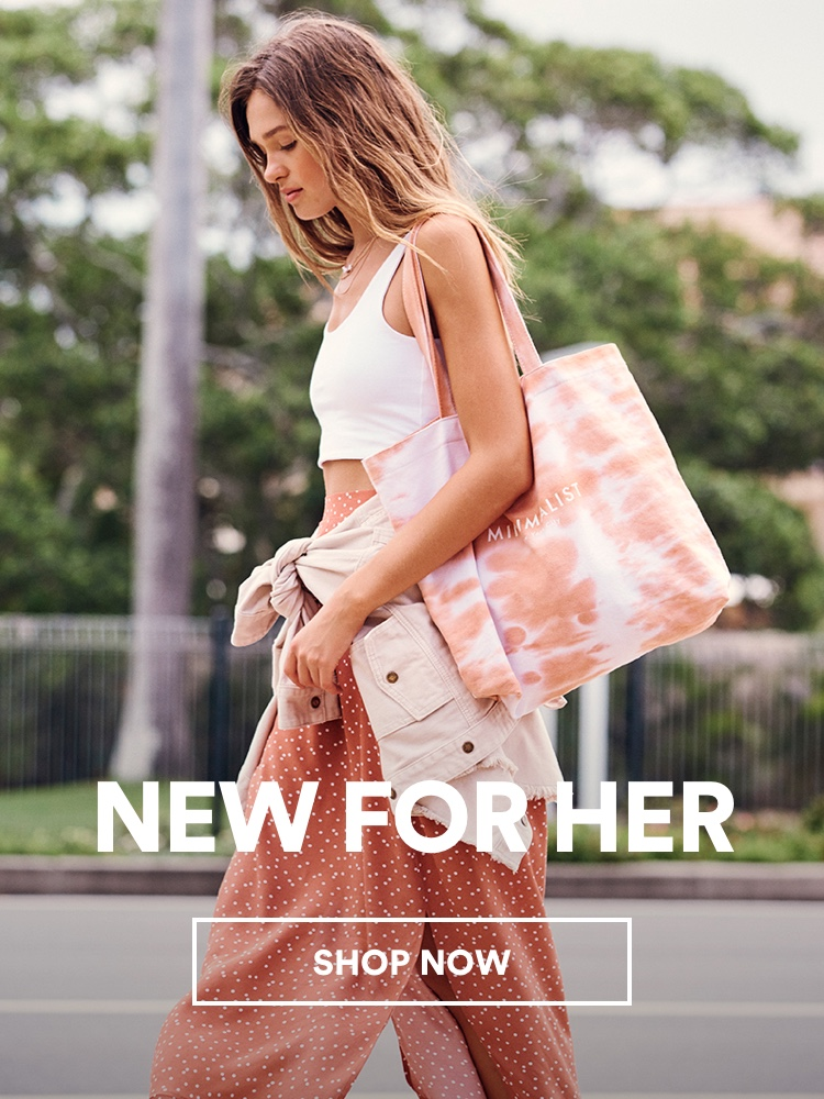 New for Her. Click to shop.