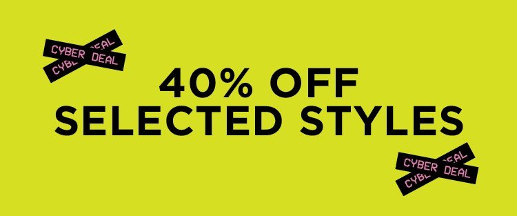 40% off. Shop Now.