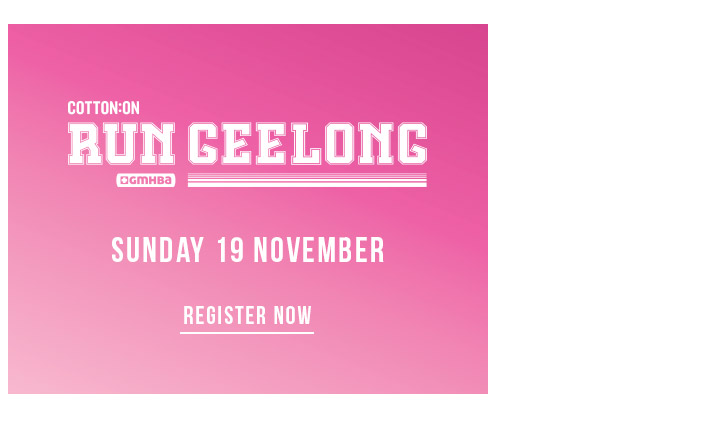 Cotton On Body | Run Geelong | Register Now