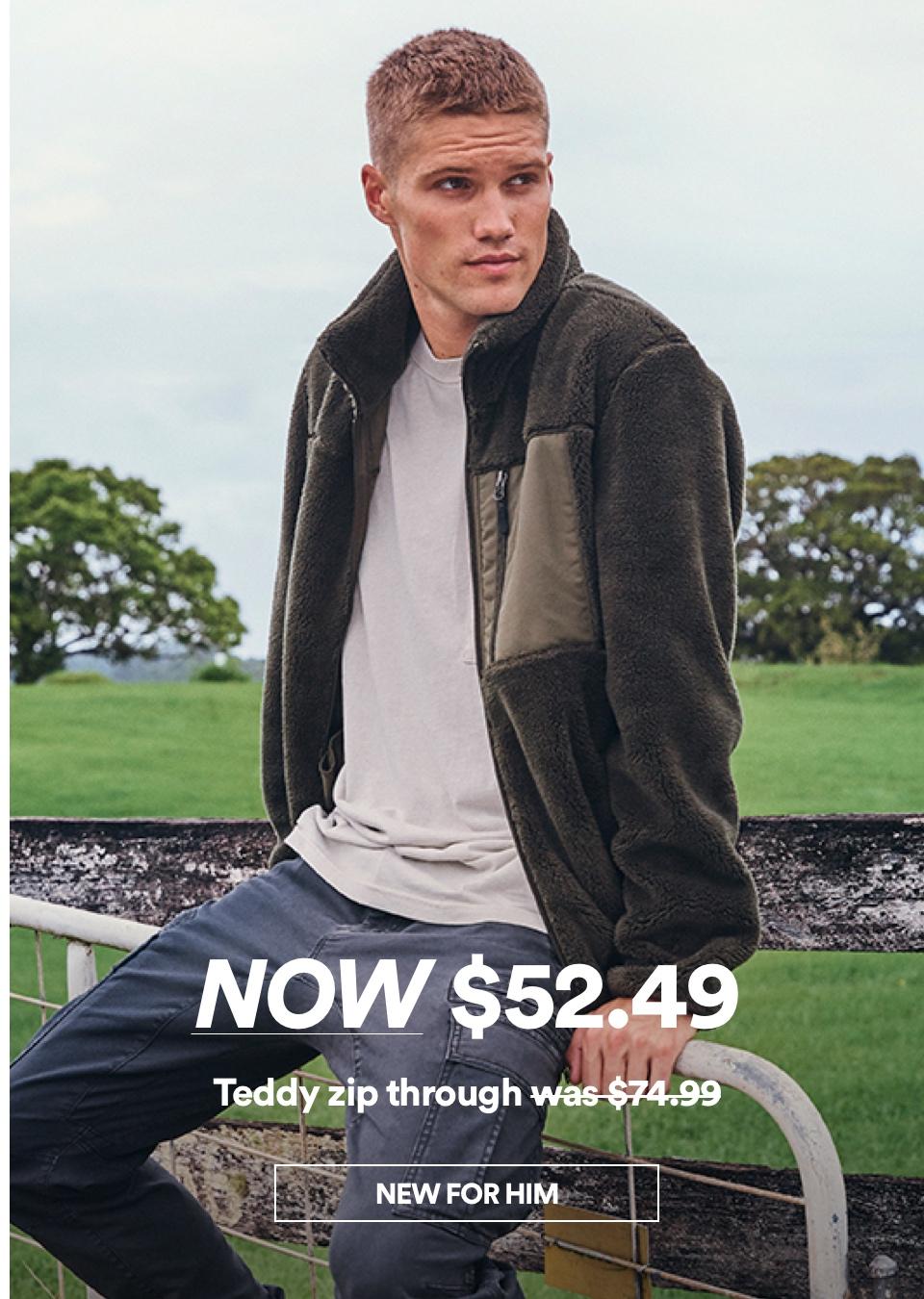 Men's New Arrivals. Click to shop.