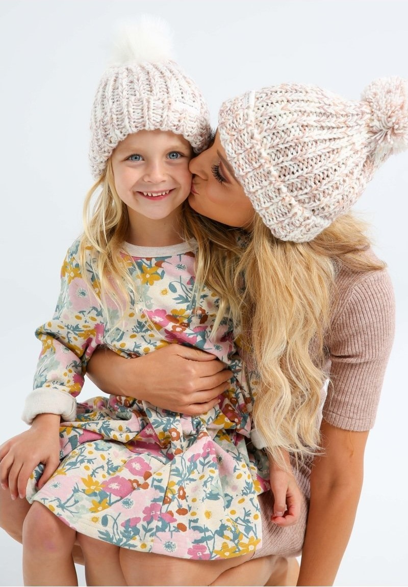 Carries Beanies For Brain Cancer. Shop Now.