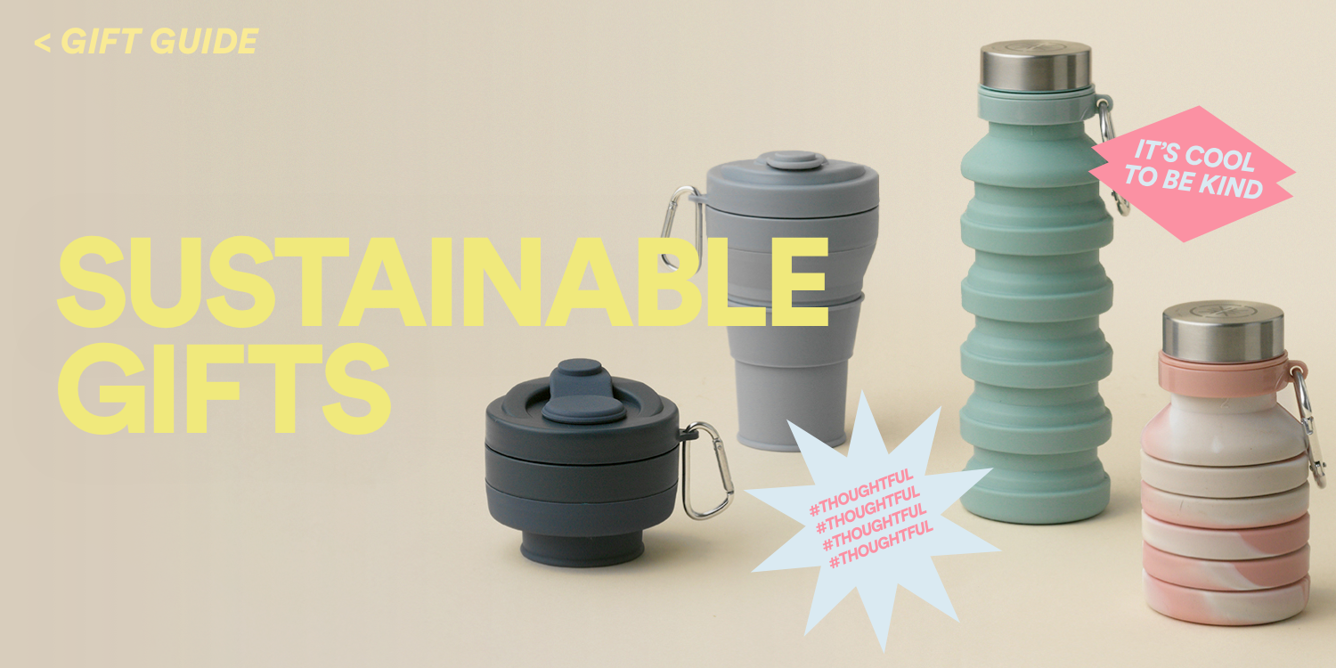 Sustainable Gifts. Click to View Gift Guide.