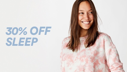 Cotton On. Sleep. Click to shop.
