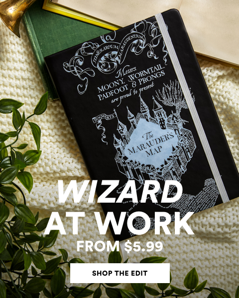 Wizard at work. Note pads. From $5.99. Click to shop
