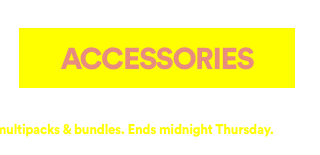 25% Off Sitewide. Click To Shop Accessories.