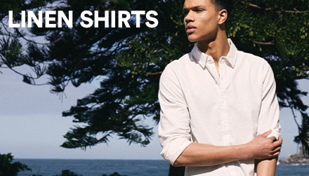 Linen Shirts. Click to shop.